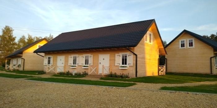 Osiedle domków drewnianych Zator